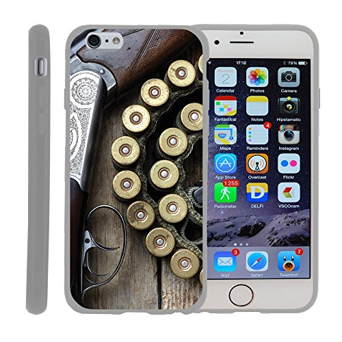 "Case for Apple iPhone 6 Plus 4.7"" , TPU Slim Fitted Shock Light Cover Phone Case with Hunting Collection Designs 