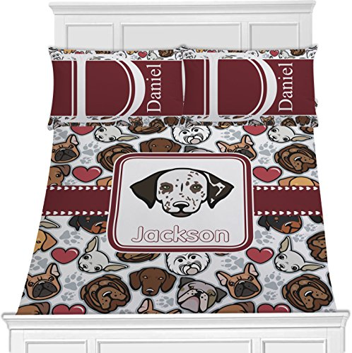 Dog Faces Toddler Bedding Set