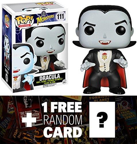 [Dracula: Funko POP! x Universal Monsters Vinyl Figure + 1 FREE Classic Sci-fi & Horror Movies Trading Card Bundle] (Sci Fi Halloween)