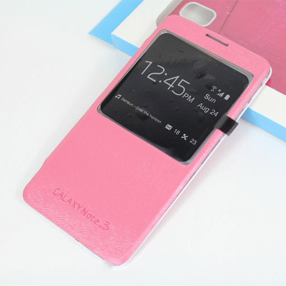 ArkAge Ultra-slim S-View Replacement Battery Cover - Pink