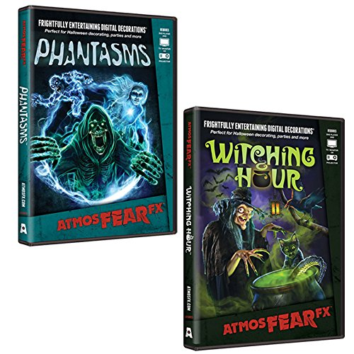AtmosFearFX-Phantasms-Witching-Hour-DVD-Combo-Pack-Virtual-Halloween-Window-Projection-Decoration