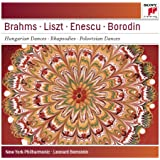 Brahms: Hungarian Dances Nos. 5 & 6; Liszt: Les Préludes; Hungarian Rhapsodies Nos. 1 & 4; Enescu: Romanian Rhapsody No. 1 - Sony Classical Masters