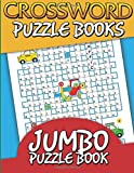 Crossword Puzzle Books: Jumbo Puzzle Book