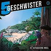Die vergessene Insel (5 Geschwister 13)   Tobias Schuffenhauer