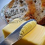 不思議なバターナイフ バターアップ 滑らかなバターを塗って、優雅な朝ごはんを (マット)