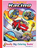 Big Book of Racing Giant Super Jumbo Coloring Book (18 wide x 24 tall)