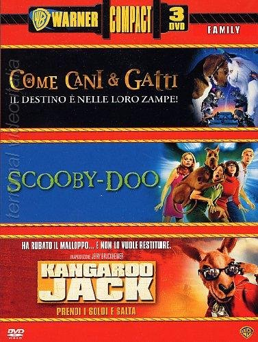 Come cani & gatti + Scooby-Doo + Kangaroo Jack [IT Import]