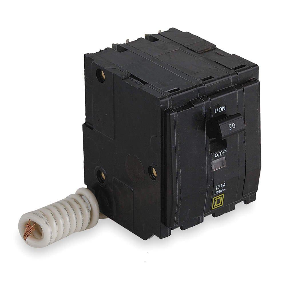 Square D QO315SWN 15A 3P 120/240V 10KAIC Plug in Circuit Breaker