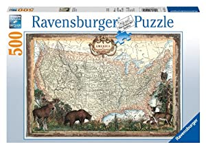 Ravensburger Old Fashioned America 500 Piece Puzzle at Sears.com