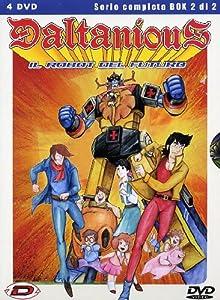 Amazon.com: Daltanious - Il Robot Del Futuro #02 (Eps 25-47) (4 Dvd