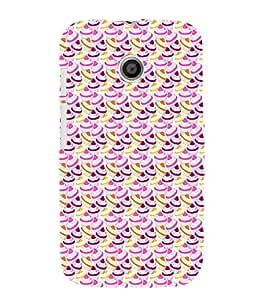 EPICCASE cupcakes Mobile Back Case Cover For Moto E (Designer Case)