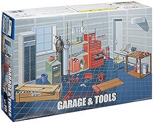 1/24 Garage & Tool Set