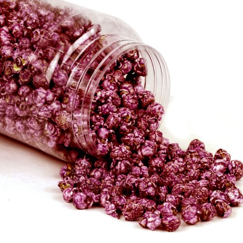 Purple Candy Coated Popcorn - Grape (4 oz 4 pack) - Oh! Nuts (Purple Popcorn Seed compare prices)