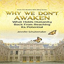Why We Don't Awaken: What Holds Humanity Back From Reaching Its Potential: The Buddha With Bling Series (       UNABRIDGED) by Jennifer Schuitemaker Narrated by Rebecca Roberts