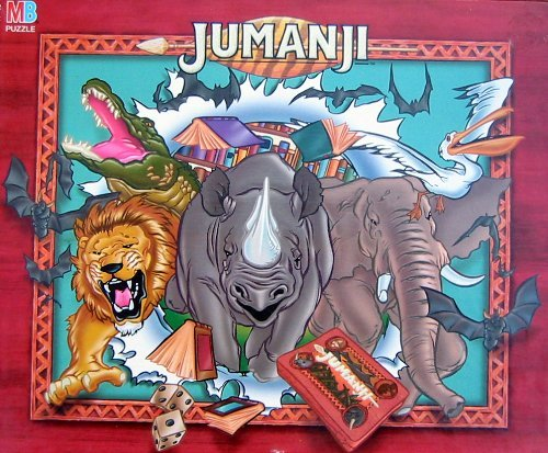 Jumanji 100pc. Puzzle-The Game - 1