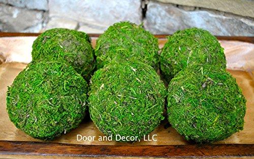 moss-ballsrustic-decormoss-covered-ballsnaturalfarmhouse-decormoss-decorrustic-moss-balls