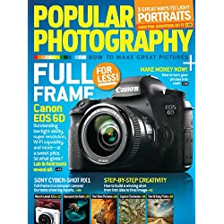 1-Year (12 Issues) of Popular Photography Magazine Subscription
