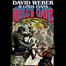 Hell's Gate: Multiverse, Book 1 Audiobook by David Weber, Linda Evans Narrated by Mark Boyett