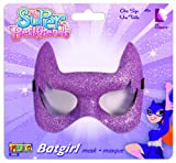 Imagine by Rubies Batgirl Super Best Friends Glitter Eye Mask, Purple