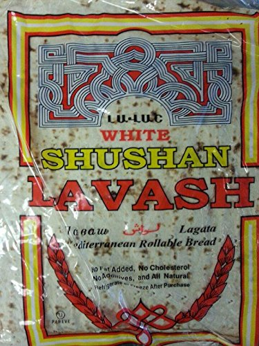 White Shushan Lavash Bread (pack of 3) (Turkish Bread compare prices)