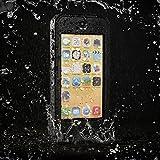 Easylife™ iPhone 5C Wasserdichte Staubdichte & stoßfeste Vollschutz Hülle Dauerhafte Voll versiegelte Schutzhülle für iPhone 5C (Schwarz)