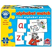 Orchard Toys Alphabet Match - First Alphabet Puzzles