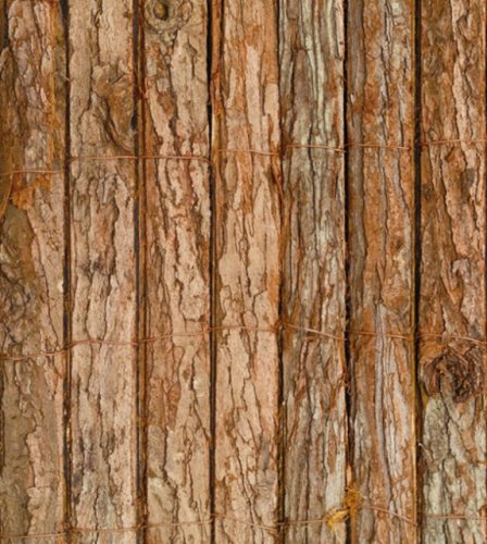 Natural Bark Garden Screening 4m x 1m