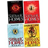 Andrew Lane Young Sherlock Holmes Pack, 4 books, RRP £27.96 (Fire Storm; Red Leech; Death Cloud; Black Ice).
