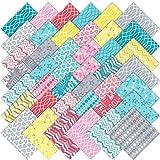 "Hugaboo Moda Charm Pack By Deb Strain; 42 - 5"" Precut Fabric Quilt Squares"