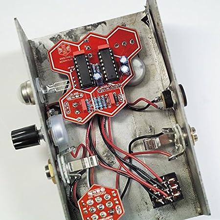 Beetronics WHOCTAHELL Custom Ace ビートロニクス ウォクタヘル カスタムエース 独創的なオクターブダウンファズ 国内正規品