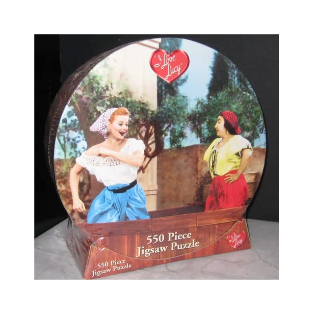 I Love Lucy Grape Stomping Puzzle by USAopoly