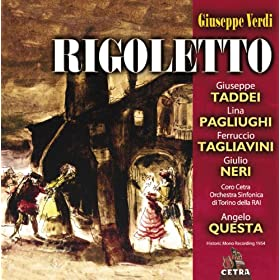 Cetra Verdi Collection: Rigoletto