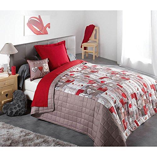 dessus de lits et couvre lits couleur montagne 3700273211826 moins cher en ligne maisonequipee. Black Bedroom Furniture Sets. Home Design Ideas