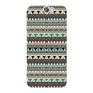 Inkif Printed Designer Case Mobile Back Cover For Htc Desire One A9