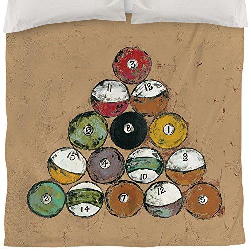 Thumbprintz Duvet Cover, King, The Rack In Tan front-476245