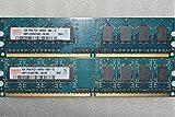 MEMORY EXPERT 2GB 2 X 1GB DDR2 800MHz DDR2-800 PC2-6400 PC2-6400u DDR2 800 240 PIN DIMM