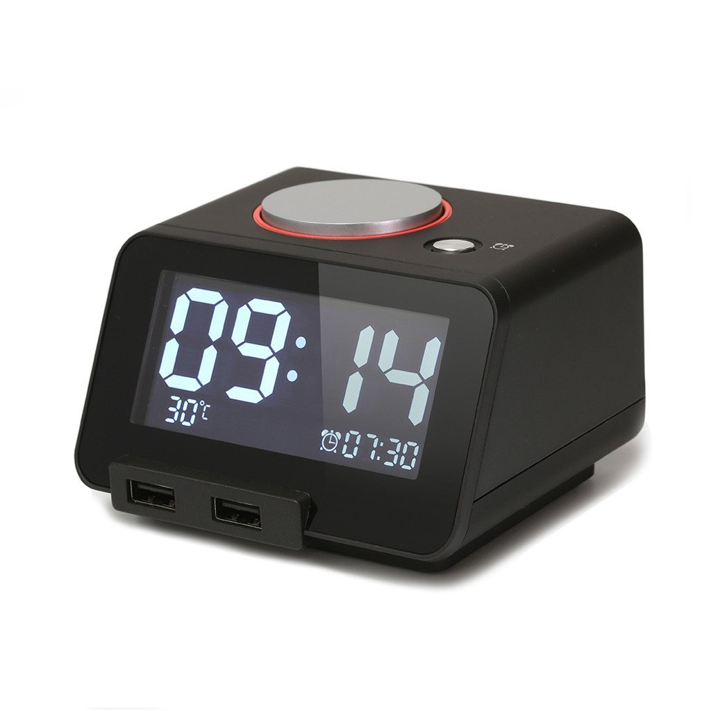 Homtime Multi Function Alarm Clock Indoor Thermometer