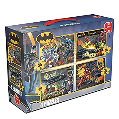 Batman 4-in-1 Jigsaw Puzzles Set