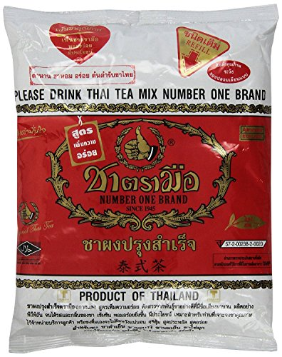 Number One The Original Thai Iced Tea Mix - Number One Brand Imported From Thailand - Great for Restaurants That Want to Serve Authentic and High Quality Thai Iced Teas, 400g Bag (Keurig Fruit Drinks compare prices)