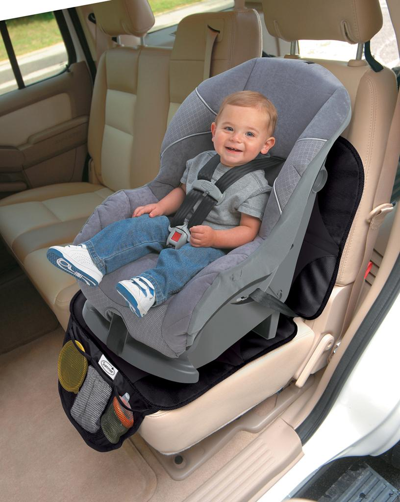 new summer infant baby easy clean non skid car seat protector mat duomat 0ship ebay. Black Bedroom Furniture Sets. Home Design Ideas