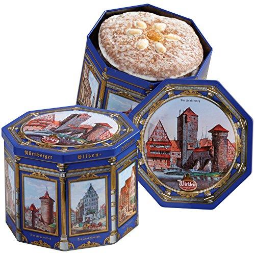 Wickleins finest Nürnberger Lebkuchen tin castle motif (1 x 500g)