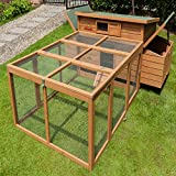 Chicken Coops Imperial Balmoral Double Large Chicken Coop With Run Suitable For Up to 10 Birds