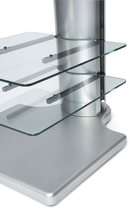 Origin II S1 Silver Cantilever TV Stand