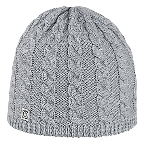 Brekka, Cappello Donna Be Woman, Grigio (Light Grey), Taglia unica
