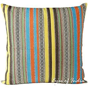 24 couvre lit motif eclectic grand coussin boh me housse for Housse tapis yoga