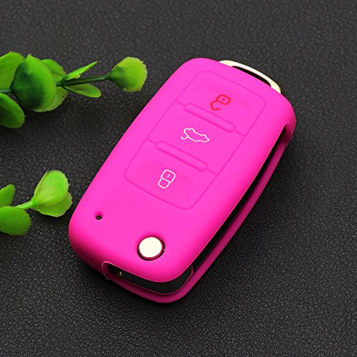 3-button-remote-flip-key-shell-casepink-fit-vw-golf-passat-bora-jetta-touran-polo-tiguan-touareg-sea