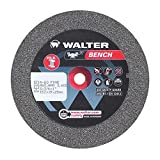 Walter Bench Grinding Wheel for Steel, Type 1, Round Hole, Aluminum Oxide, 6