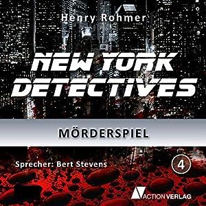 Mörderspiel (New York Detectives 4) Hörbuch