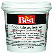 Dap26004Do it Best Clear Thin Spread Floor Tile Adhesive-QT FLOOR TILE ADHESIVE