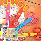 Decorative Craft Border Sewing Scissors Scallop Wavy Pinking Paper Shears Color Random HG 1414